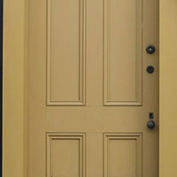 traditional style door