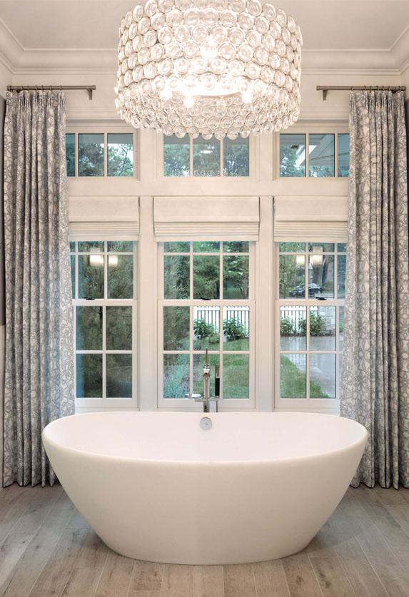 Marvin windows in bathroom